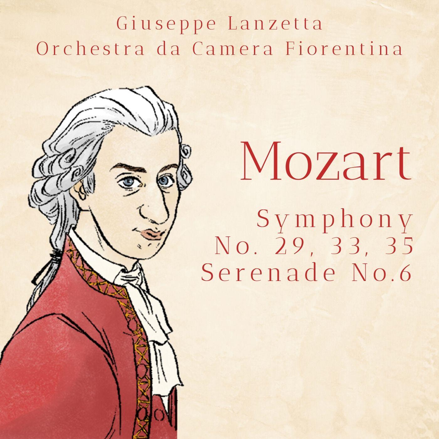 Mozart: Symphony No. 29, 33, 35 & Serenade No. 6
