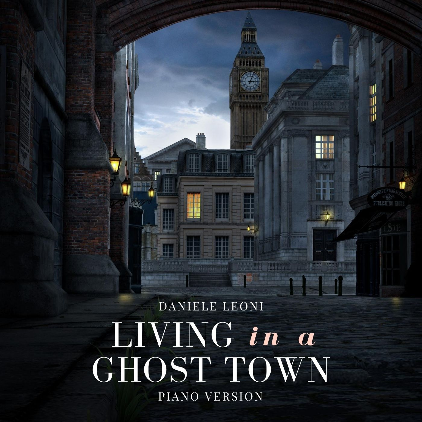 Living in a Ghost Town - Piano Version