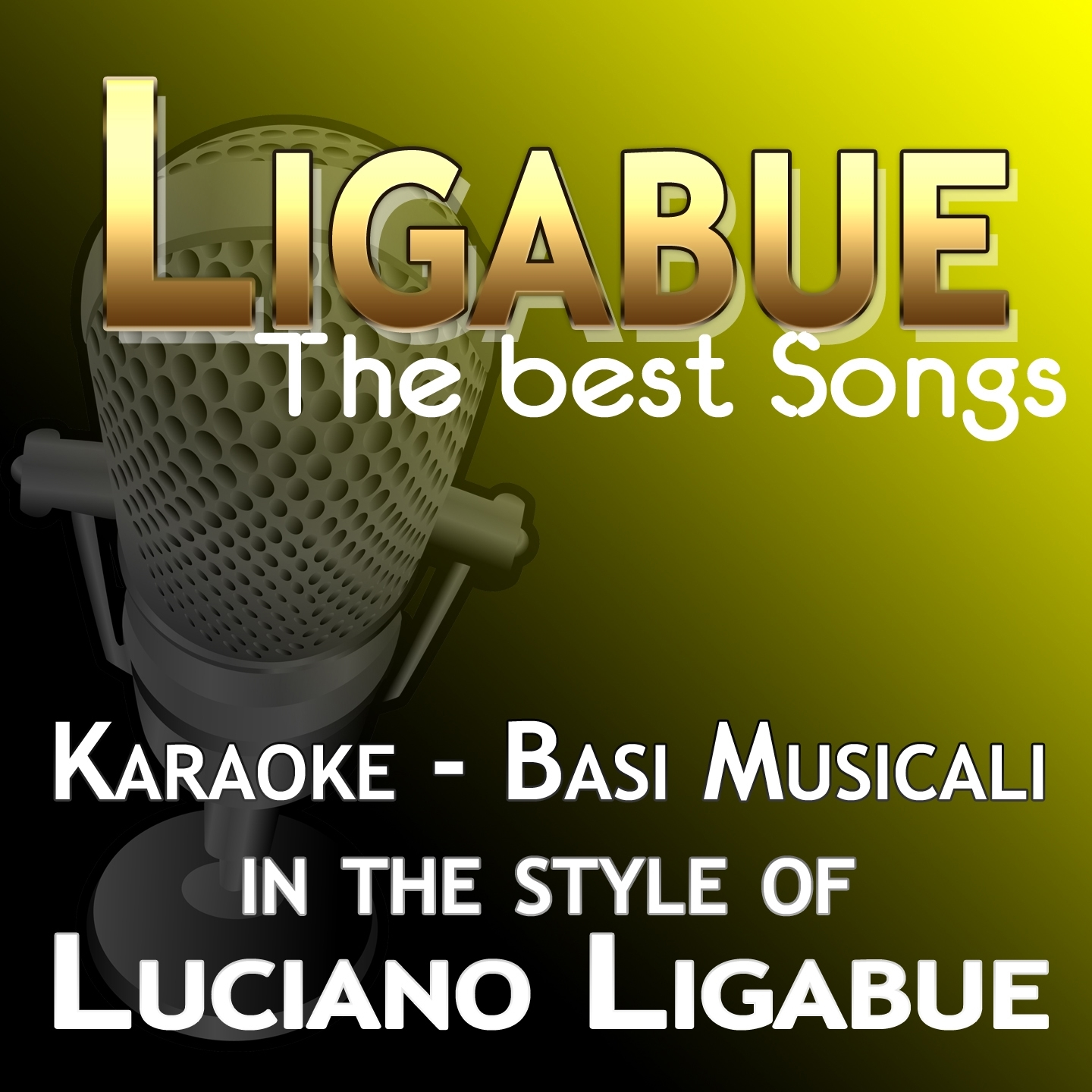 Karaoke Luciano Ligabue: The Best Songs