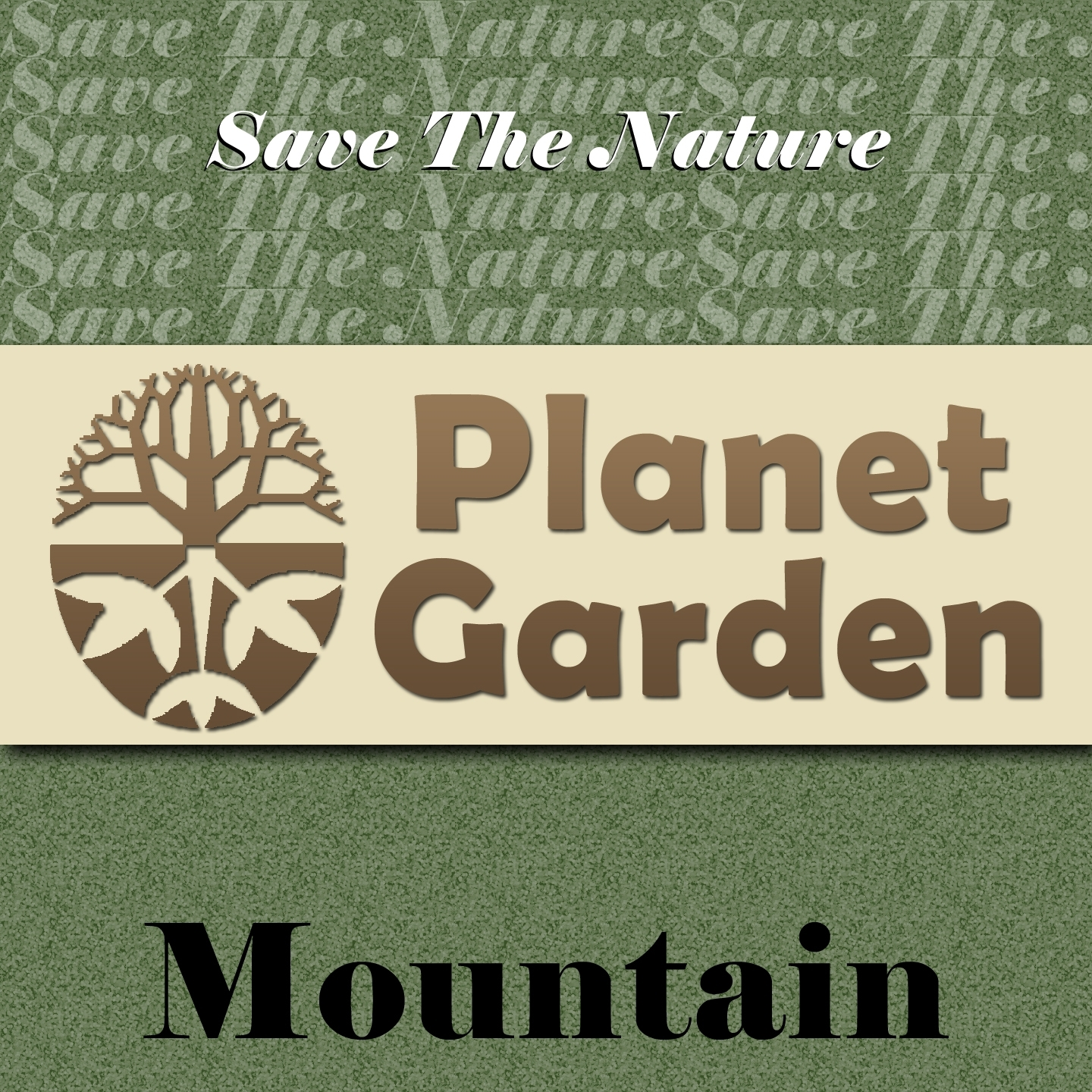 Save the Nature Planet Garden: Mountain