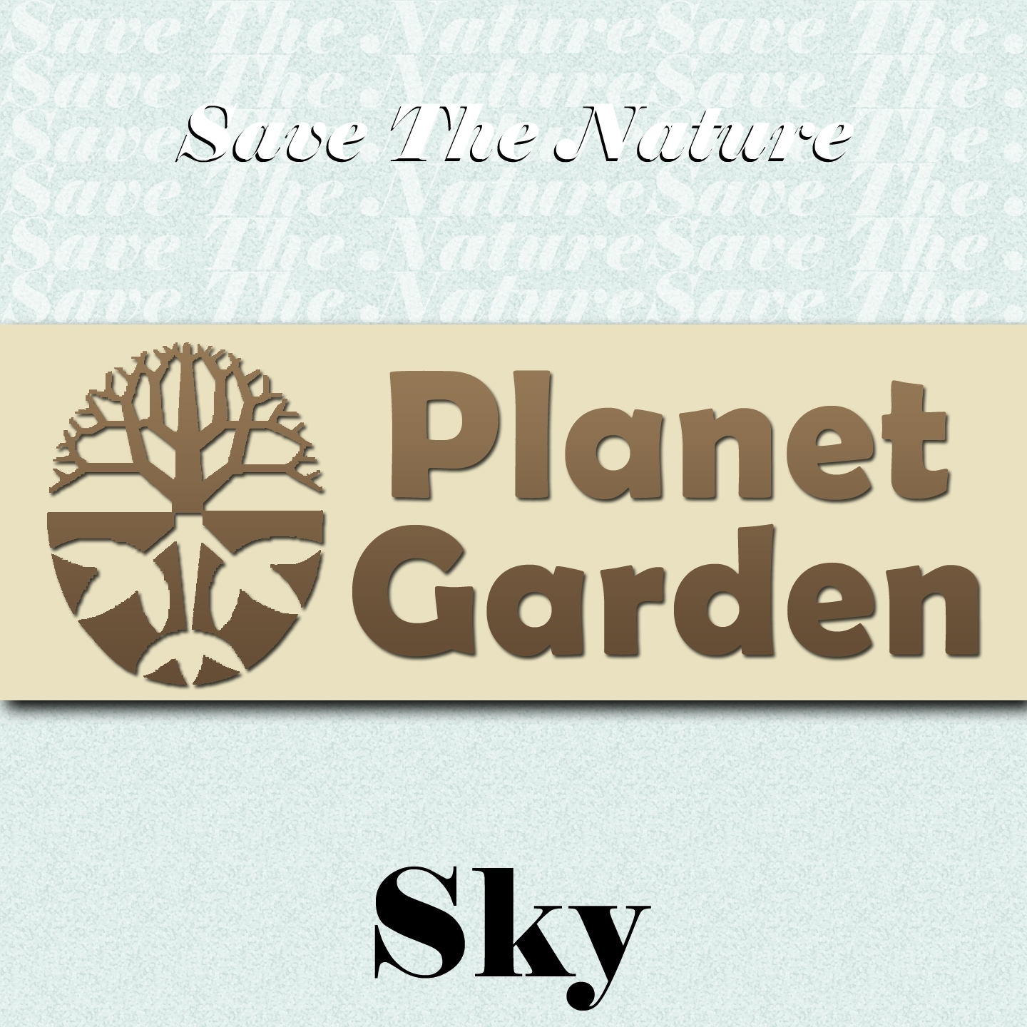 Save the Nature Planet Garden: Sky
