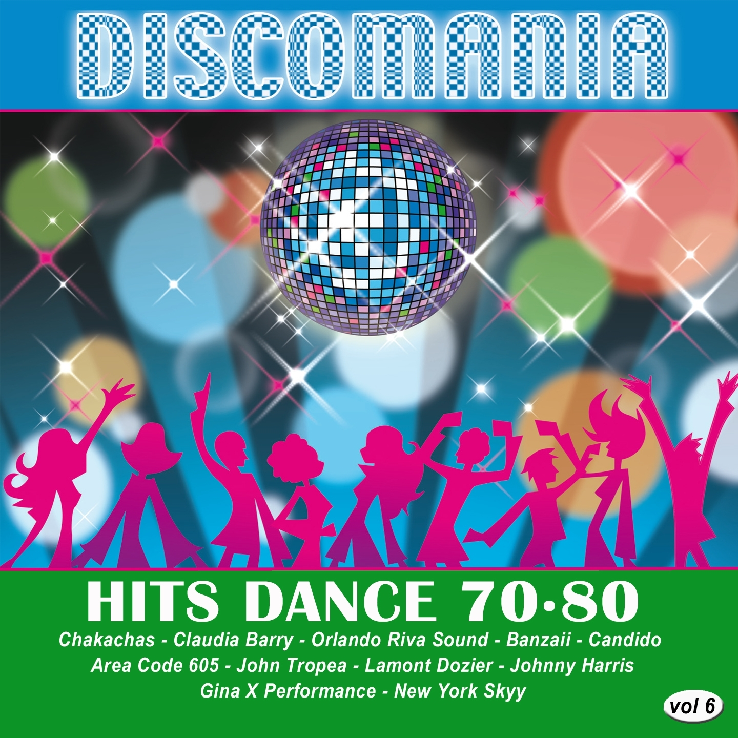 Discomania: Hits Dance 70-80,  Vol. 6