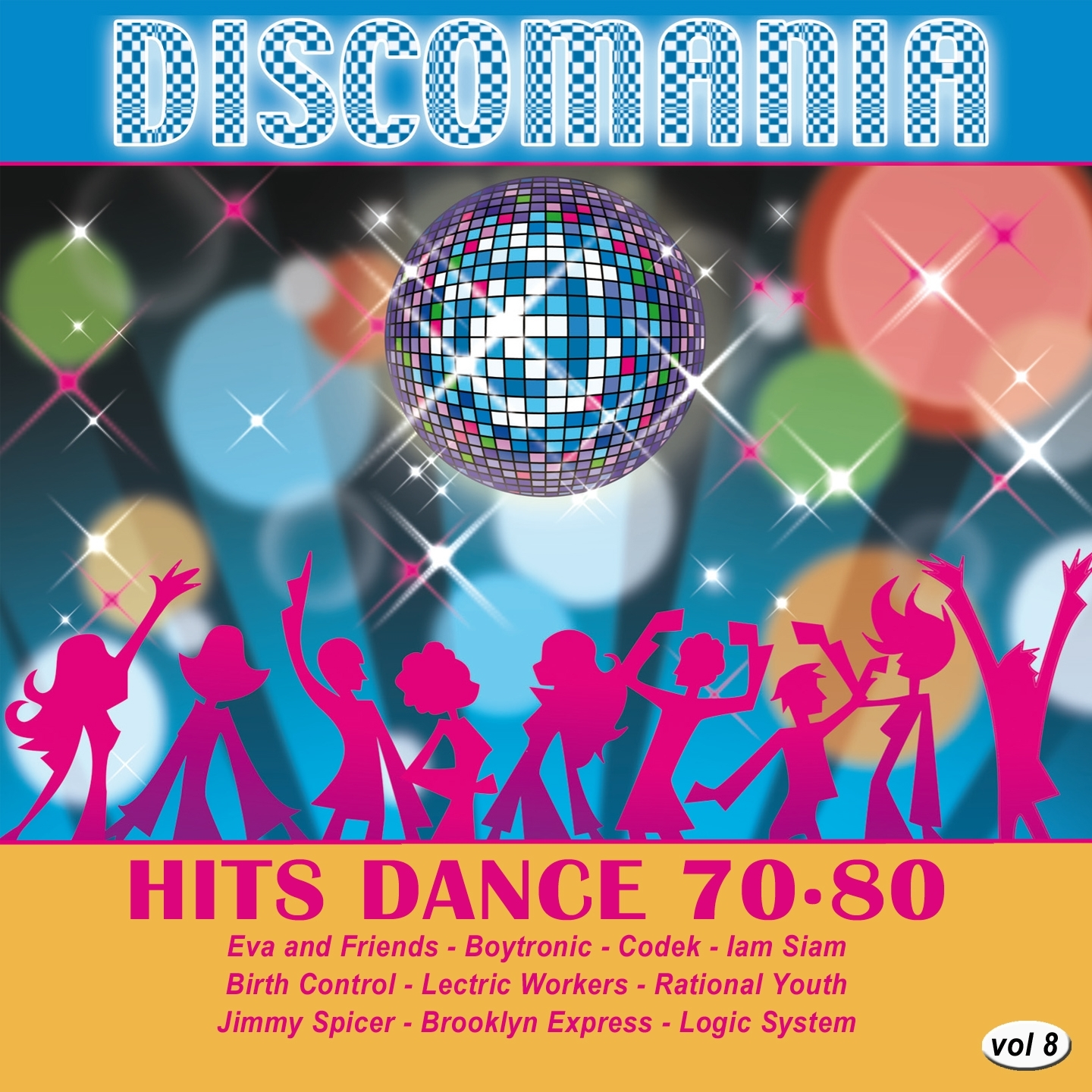 Discomania: Hits Dance 70-80, Vol. 8