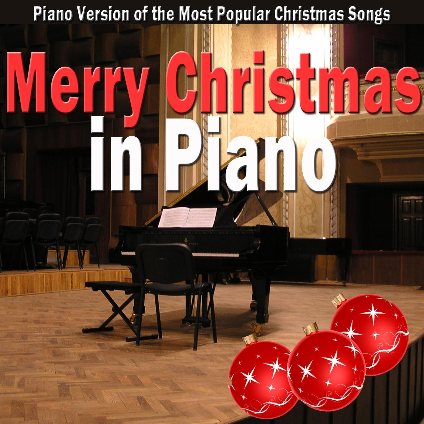 Merry Christmas in Piano