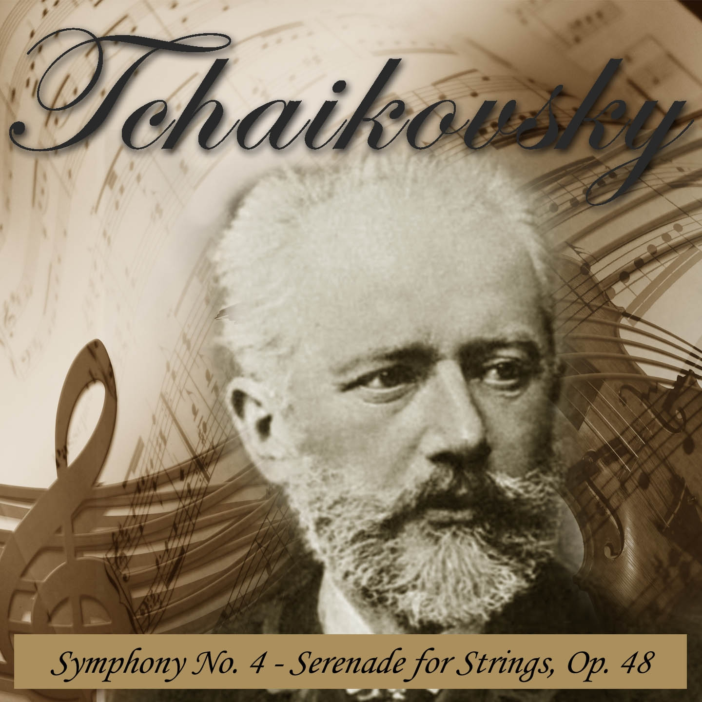 Tchaikovsky: Symphony No. 4 & Serenade for Strings, Op. 48