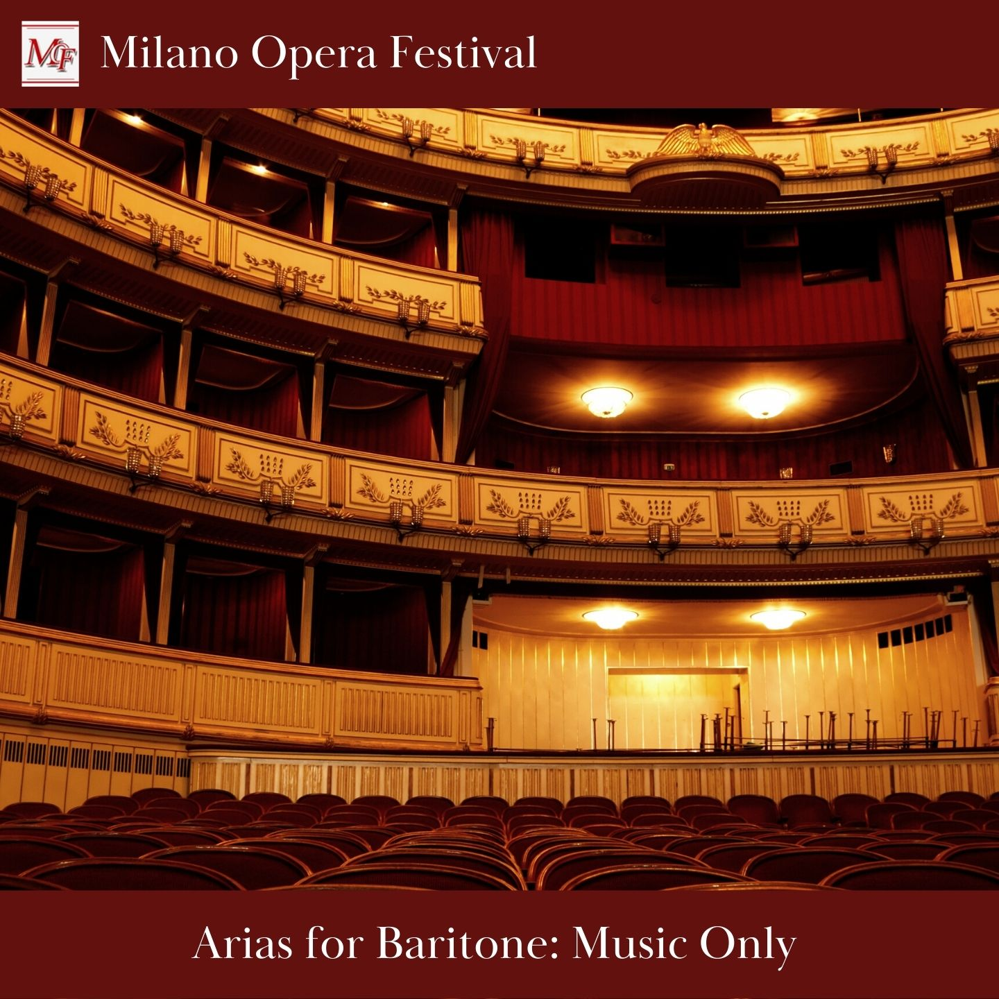 Arias for Baritone - Only Music + Video Karaoke Tutorial