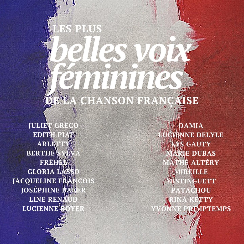 Les plus belles voix féminines de la chanson française