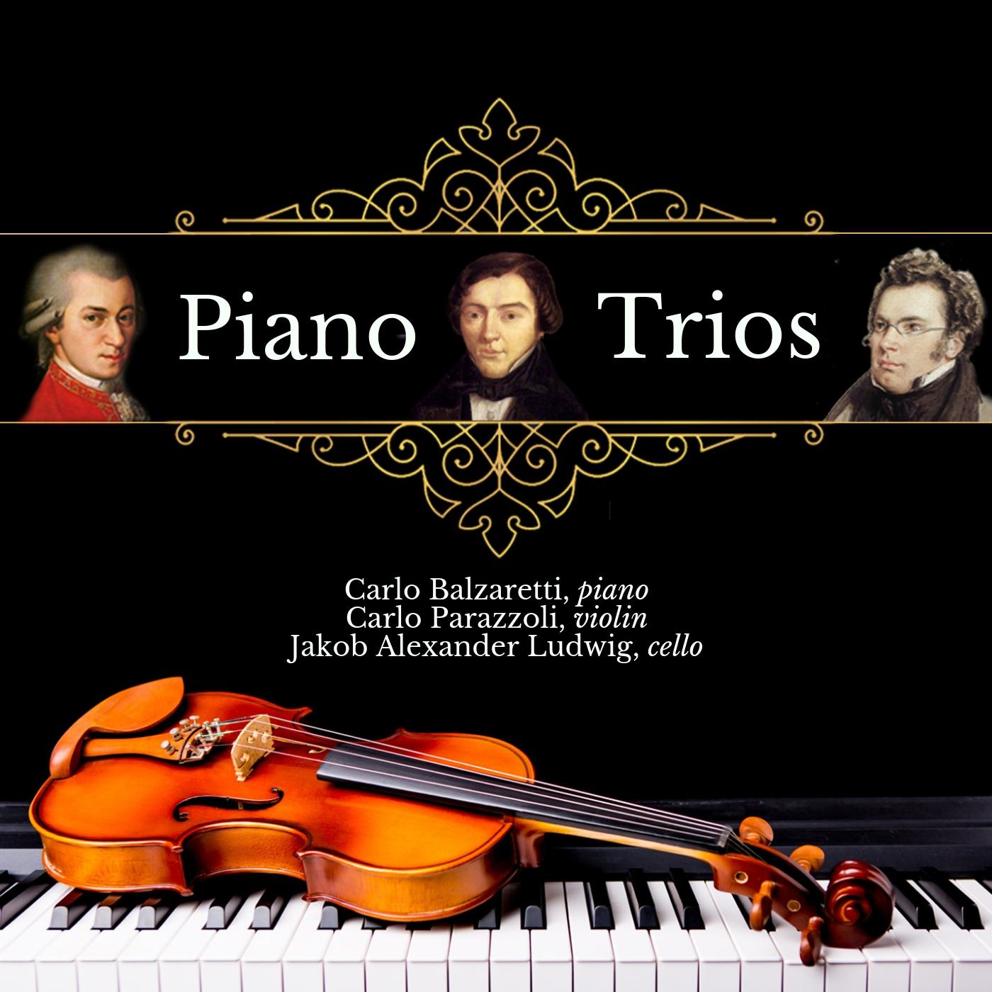 Mozart, Schubert, Schumann: Piano Trios