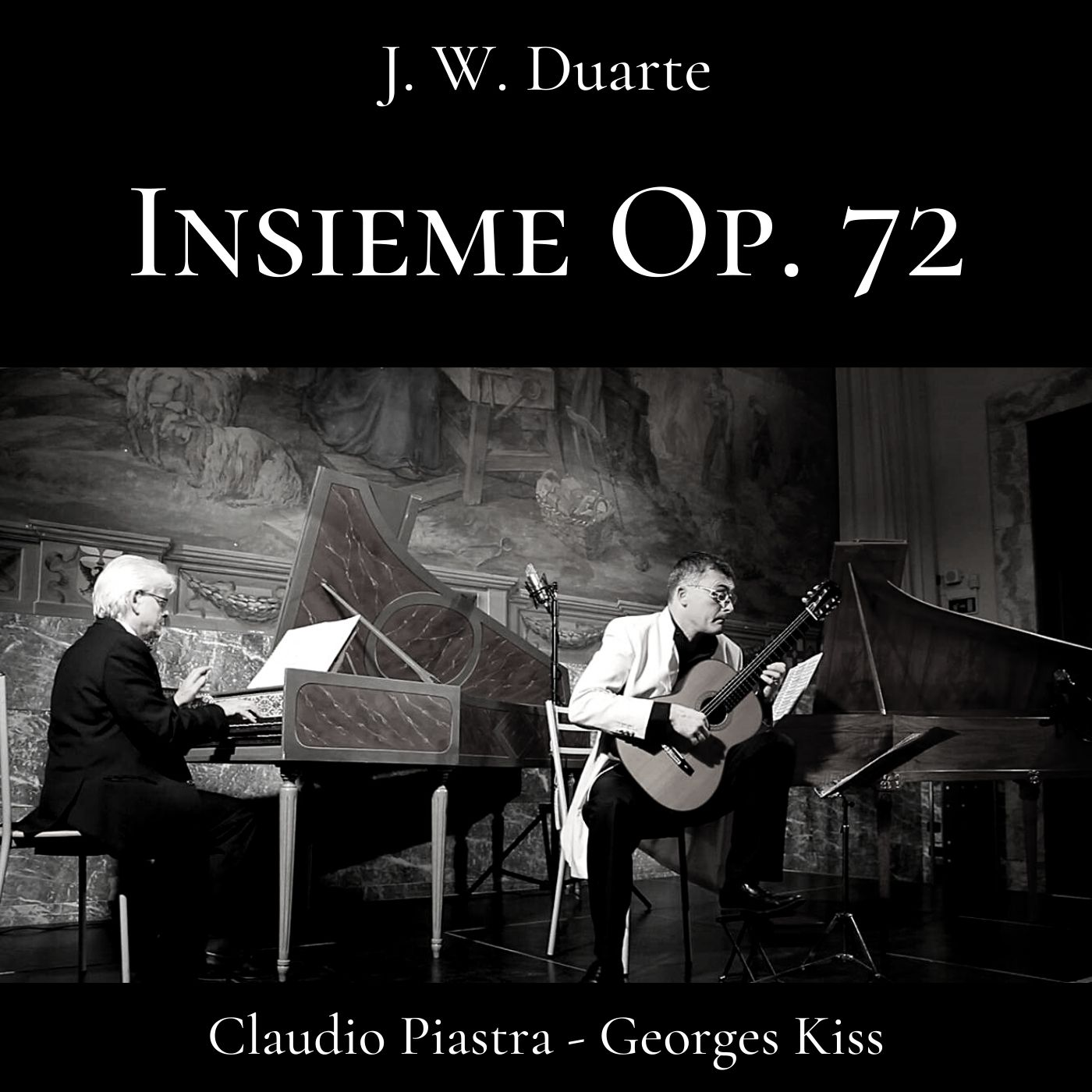 Insieme, Op. 72 for Guitar & Harpsichord