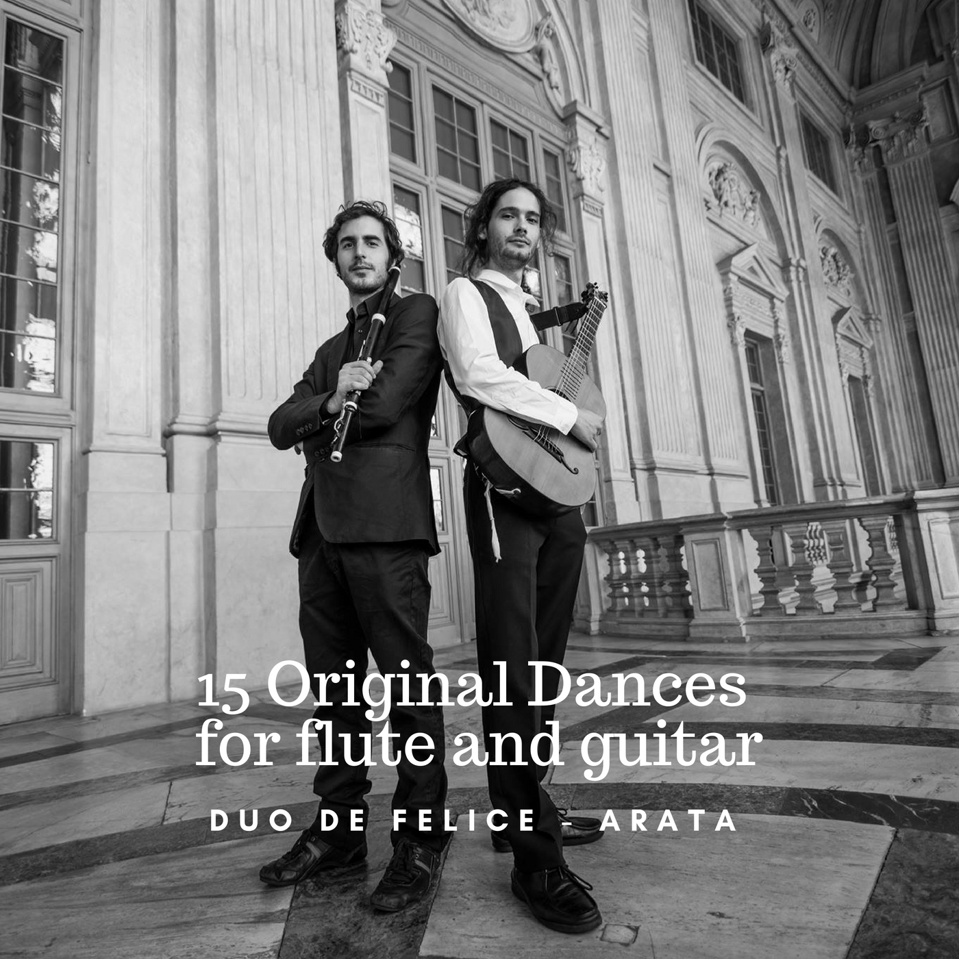 Schubert: 15 Original Dances from D. 365 for Flute and Guitar