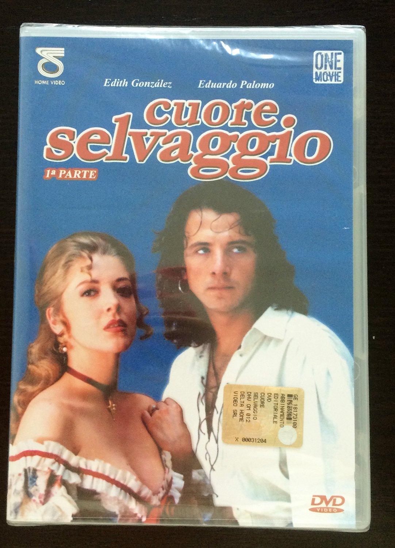CUORE SELVAGGIO, telenovelas con Edoardo Paolomo - DVD (prima parte)