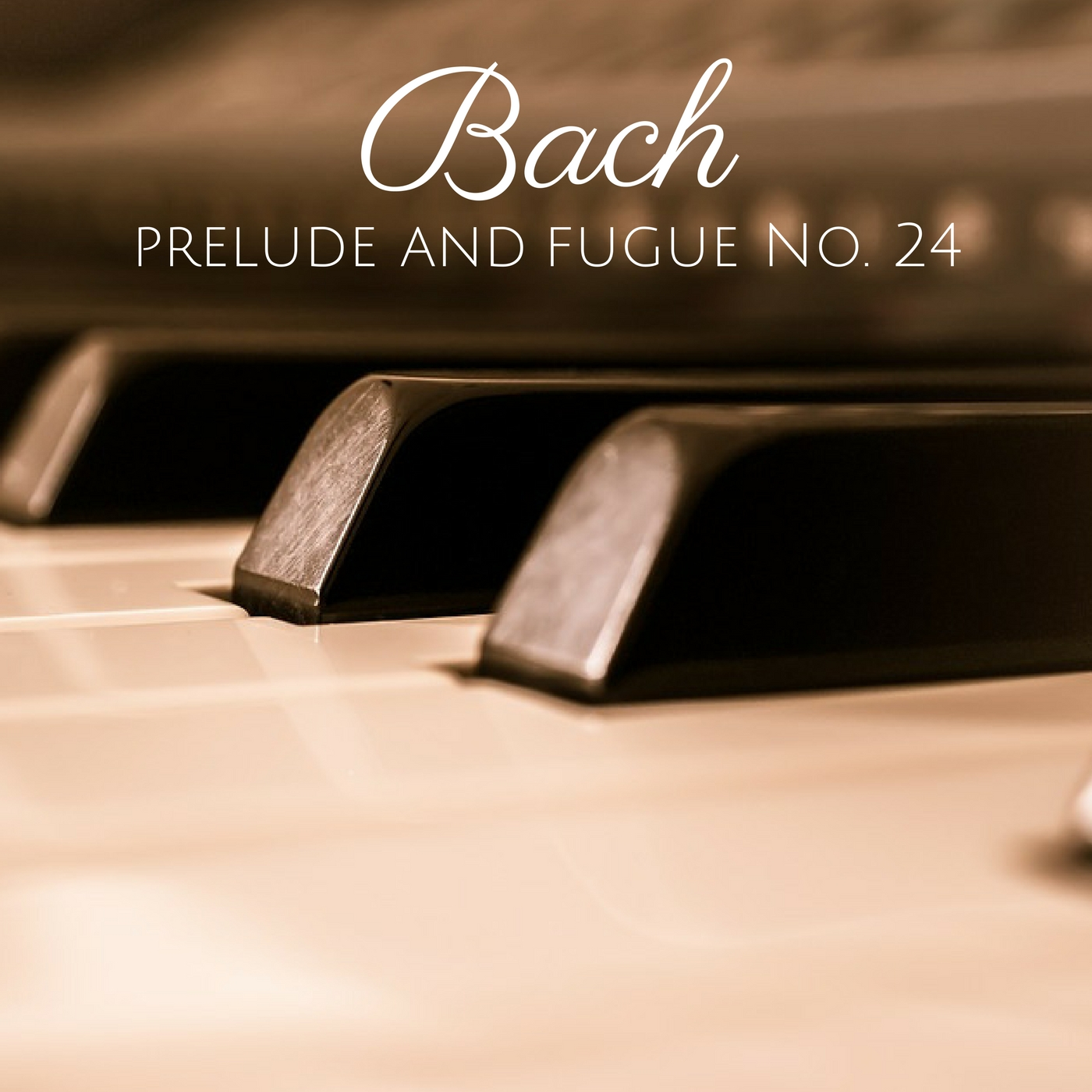 Bach - The Well-Tempered Clavier, Book II: Prelude and Fugue No. 24