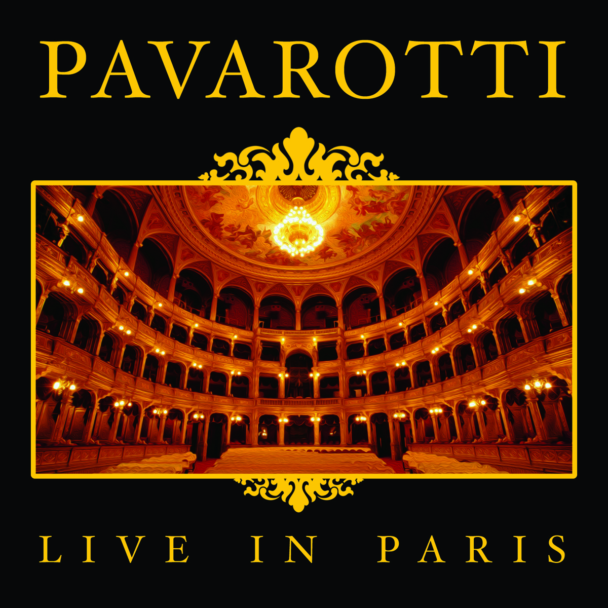 THE BEST OF PAVAROTTI - LIVE IN PARIS