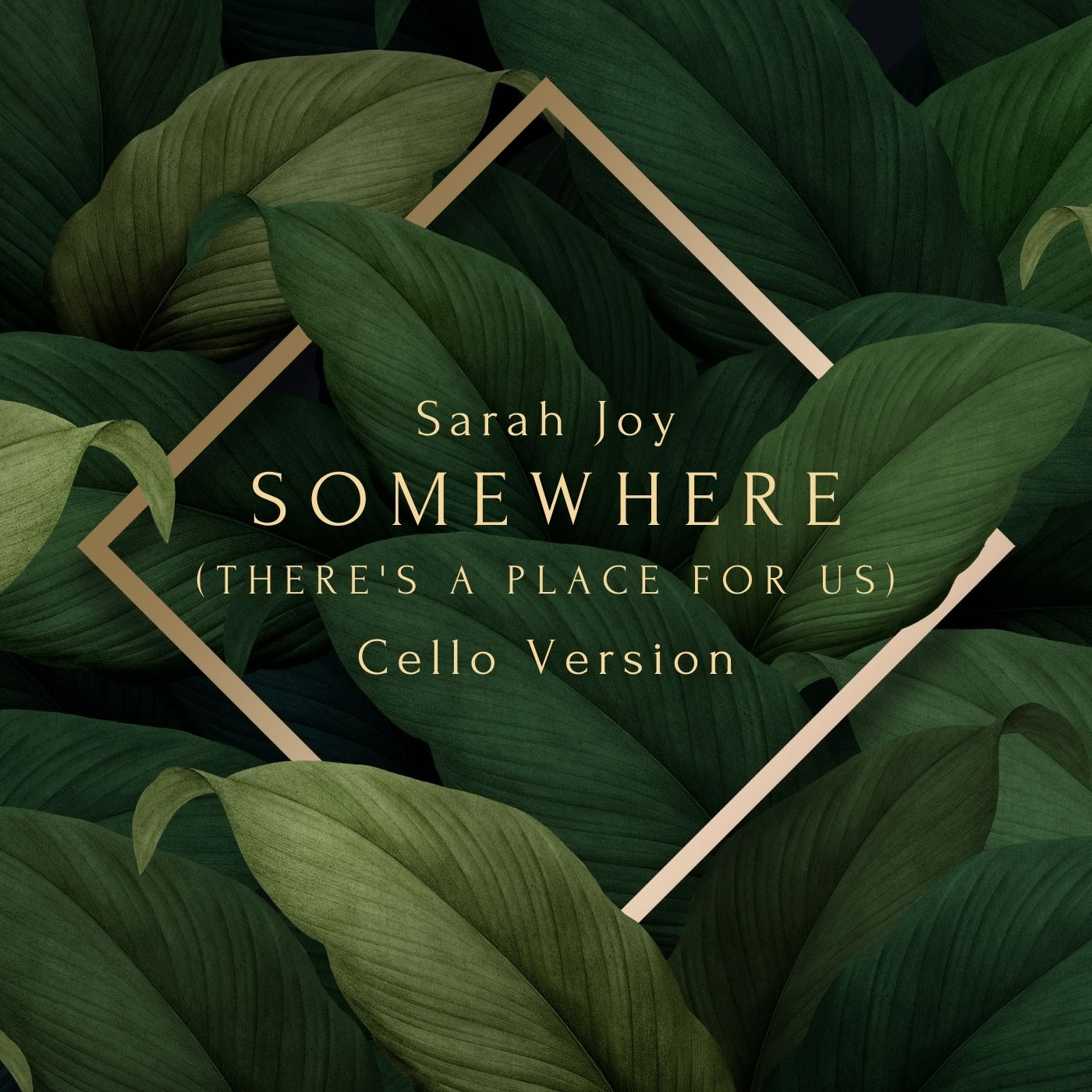 Somewhere (There's a Place for Us) - Cello Version