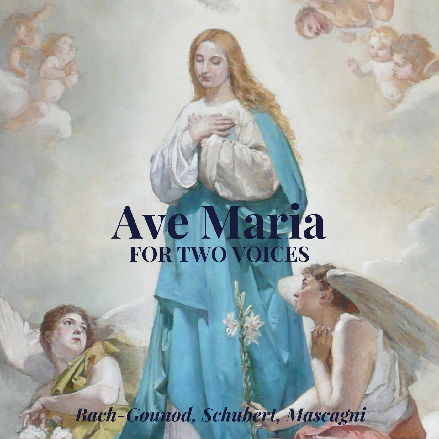Ave Maria [for two voices] (Bach-Gounod, Schubert, Mascagni) | Sacred Christmas Music