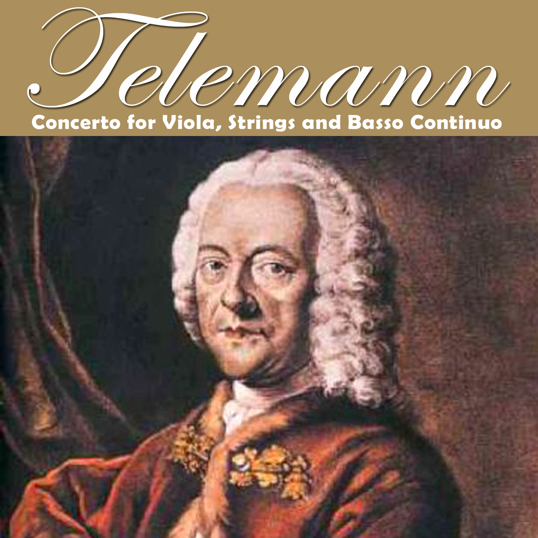 Telemann: Concerto per viola, archi e basso continuo
