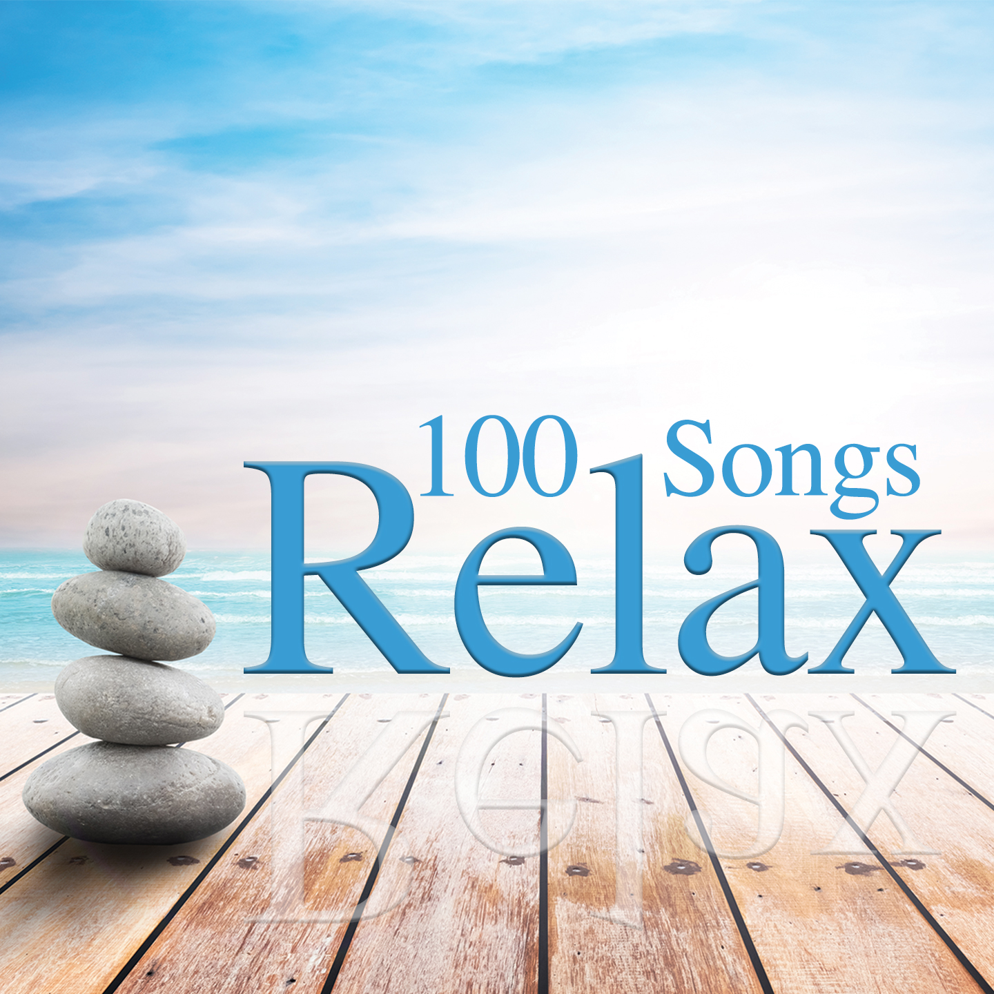 4 CD 100 Songs Relax, Musica Rilassante, Peaceful, Wellness Relax, Lounge Music, Relaxing, Meditation, Sound Of Nature, Chillout Music, Spa Music