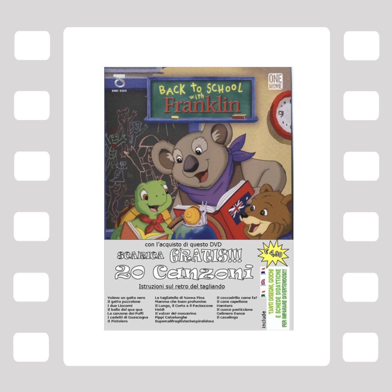 Back to school with Franklin - DVD Animazione