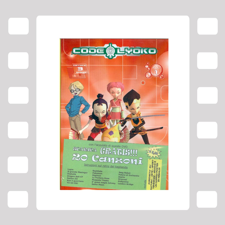 Code Lyoko 1 - DVD Animazione