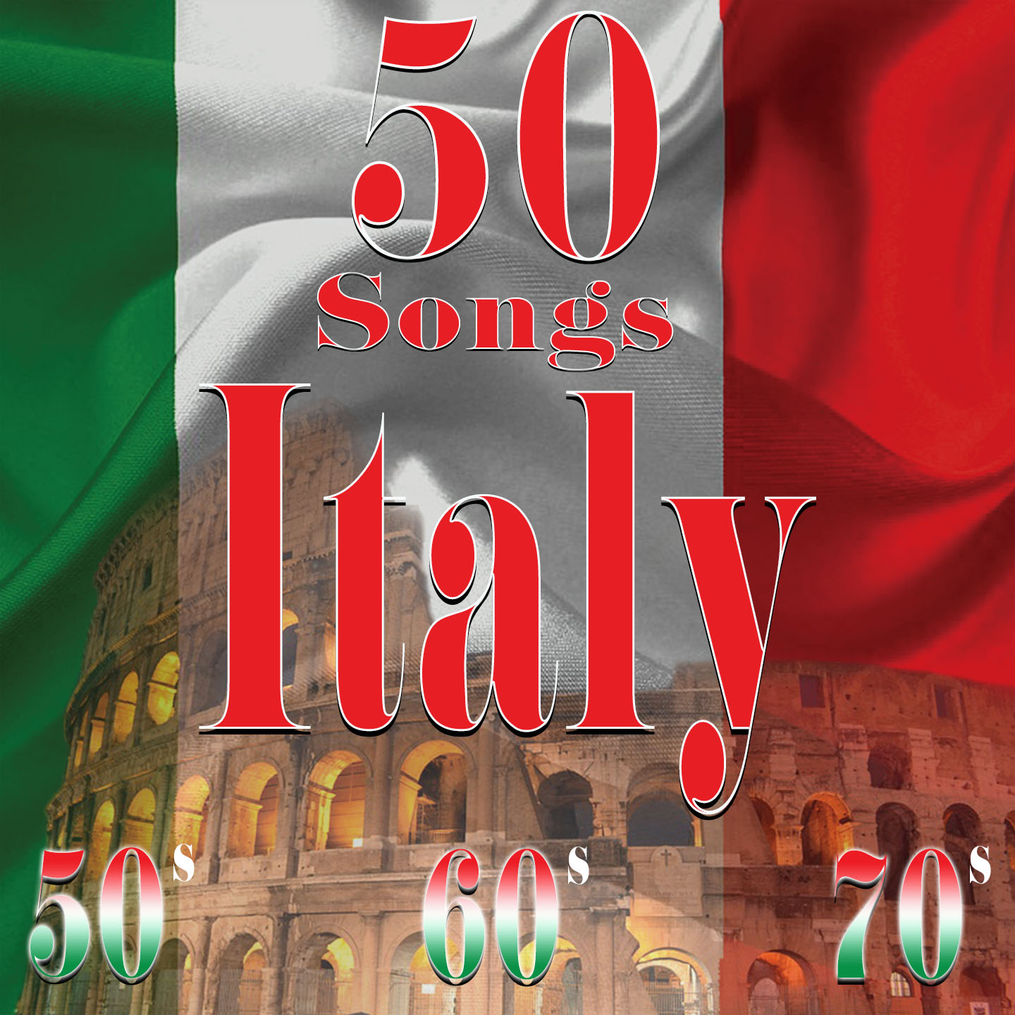 Italy 50' 60' 70' - 50 Songs