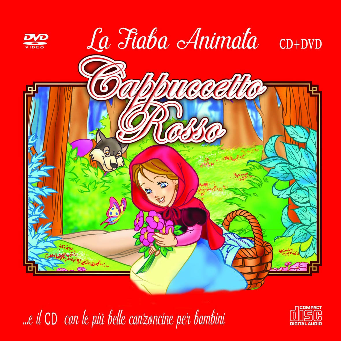 The Most Beautiful Italian children's songs ( Fiaba Animata